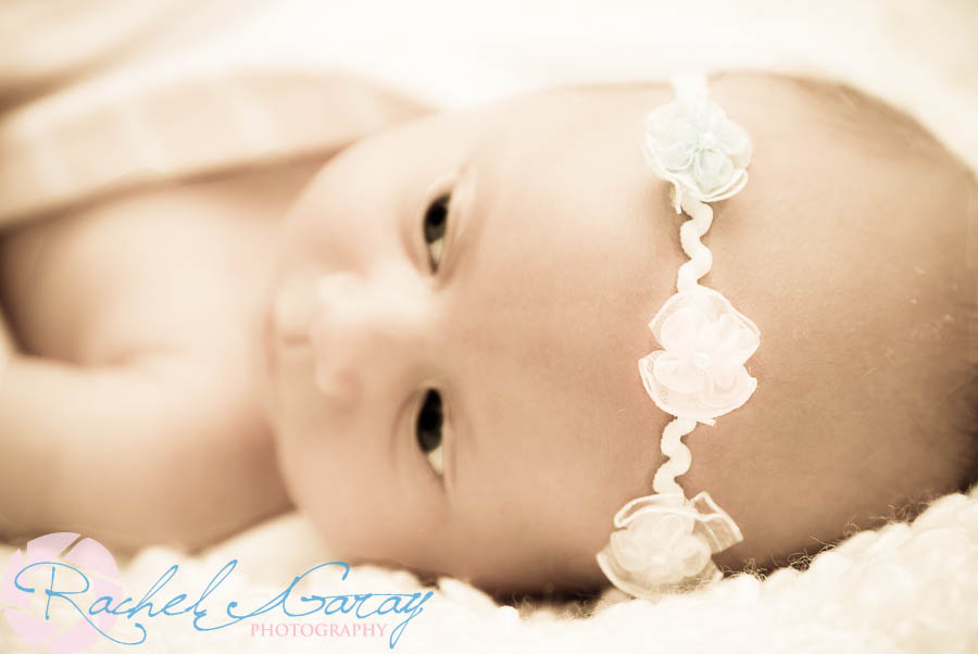 Little baby B, in the studio ready for her close-up!