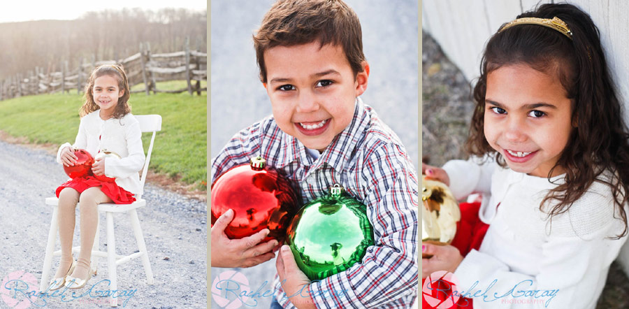 Child portraits featuring the L children in Rockville MD