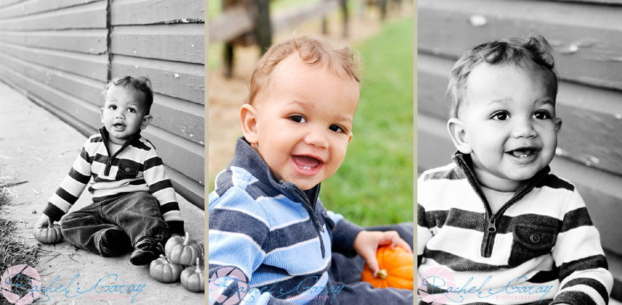 Toddler child smiling for his child photography session in Rockville