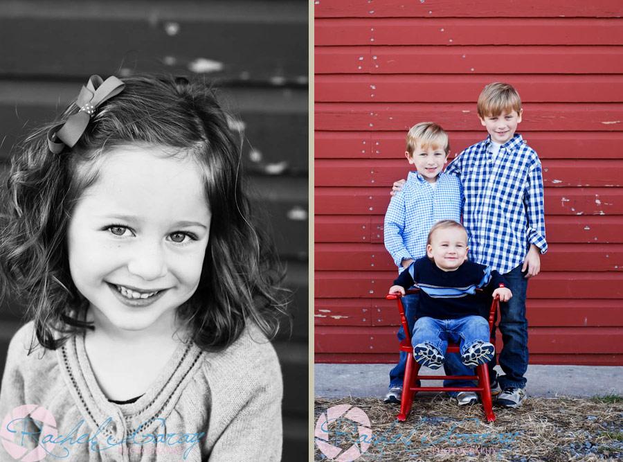 Rockville child photographer Rachel Garay captured these great smiles