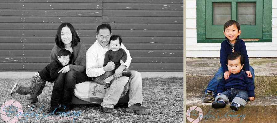 Family and childrens photography session near Bethesda