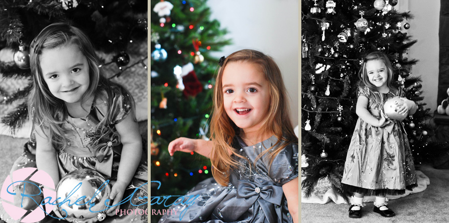 Child portraits with the L Family at Christmas!