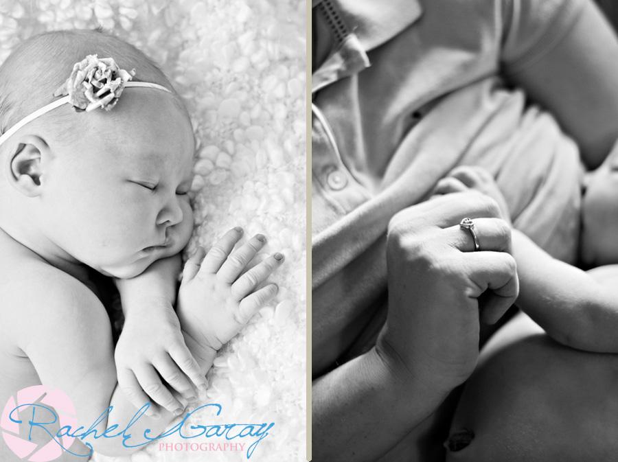 Gaithersburg newborn photography with baby Iris
