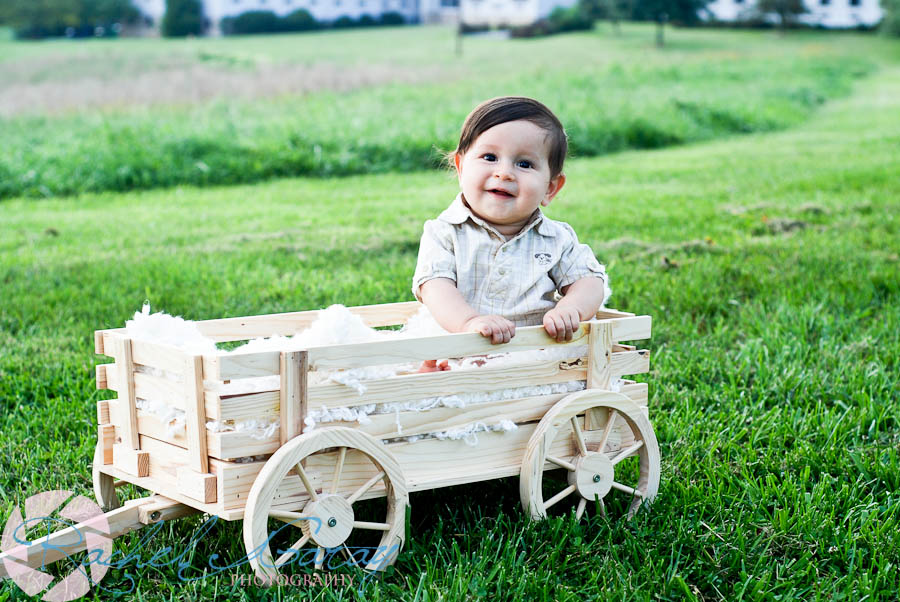 Baby in wagon at park in Derwood, MD!
