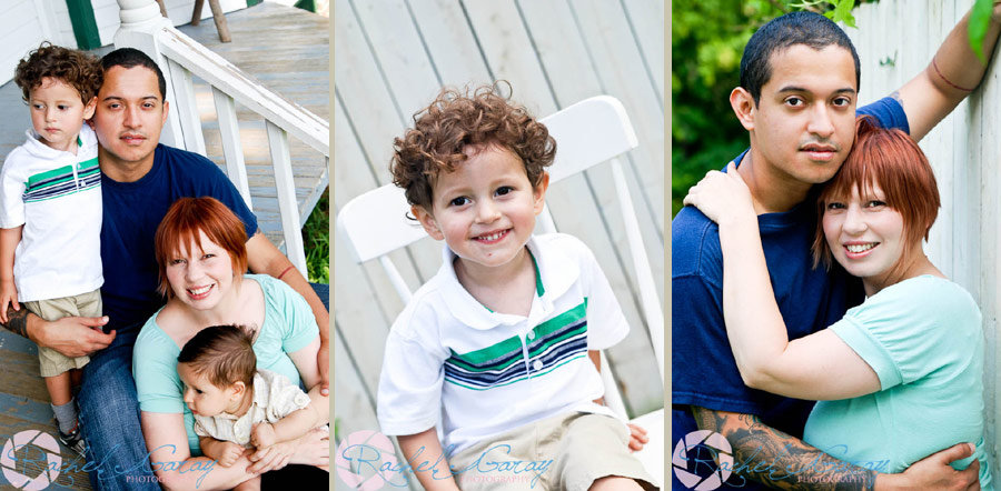 Children's pictures with family in these portraits